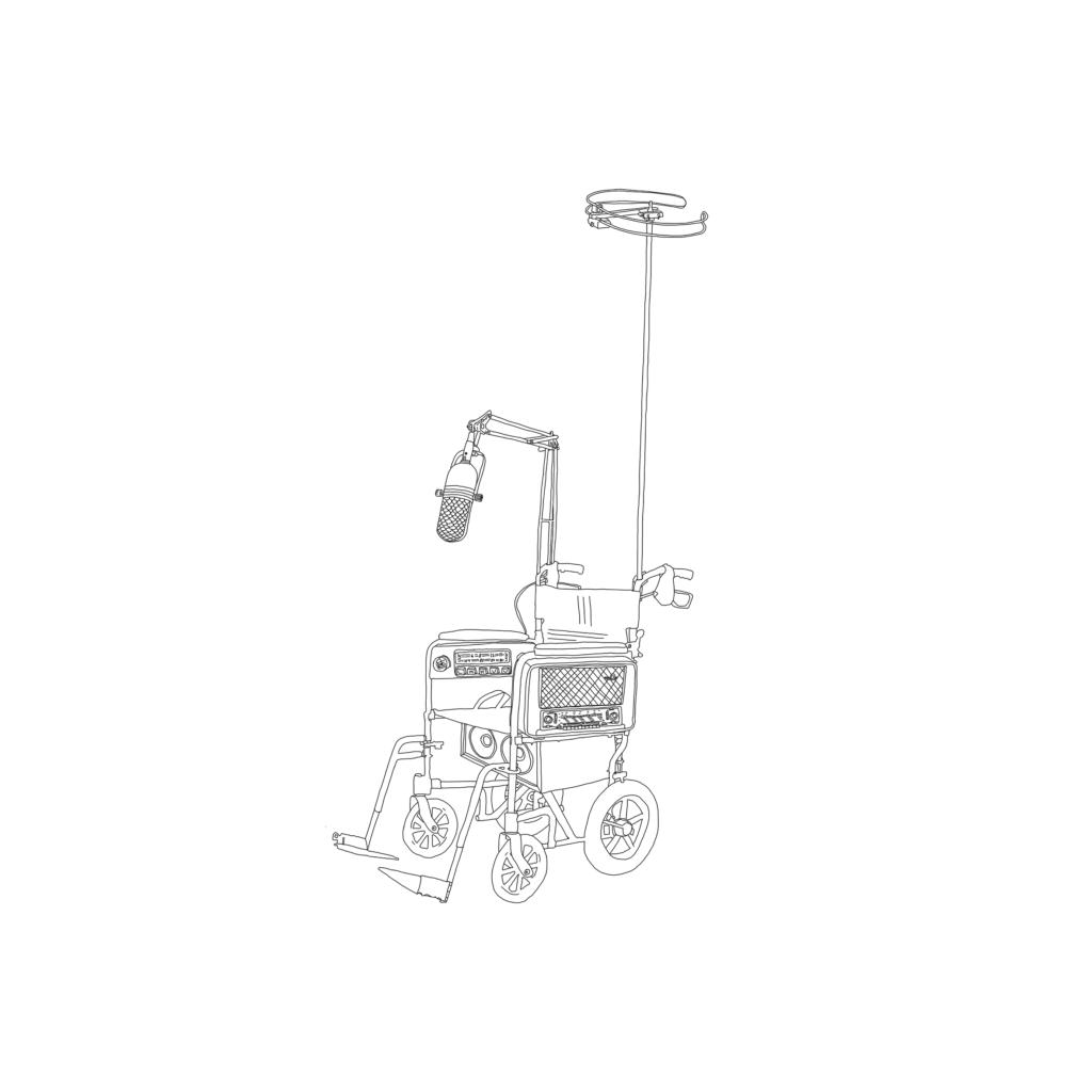 Mobile Radio Wheelchair